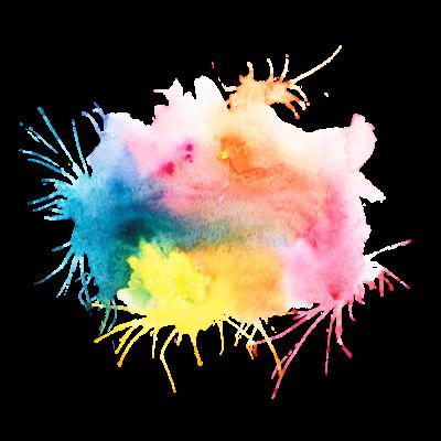 TuxedoKat | Puddling Painting