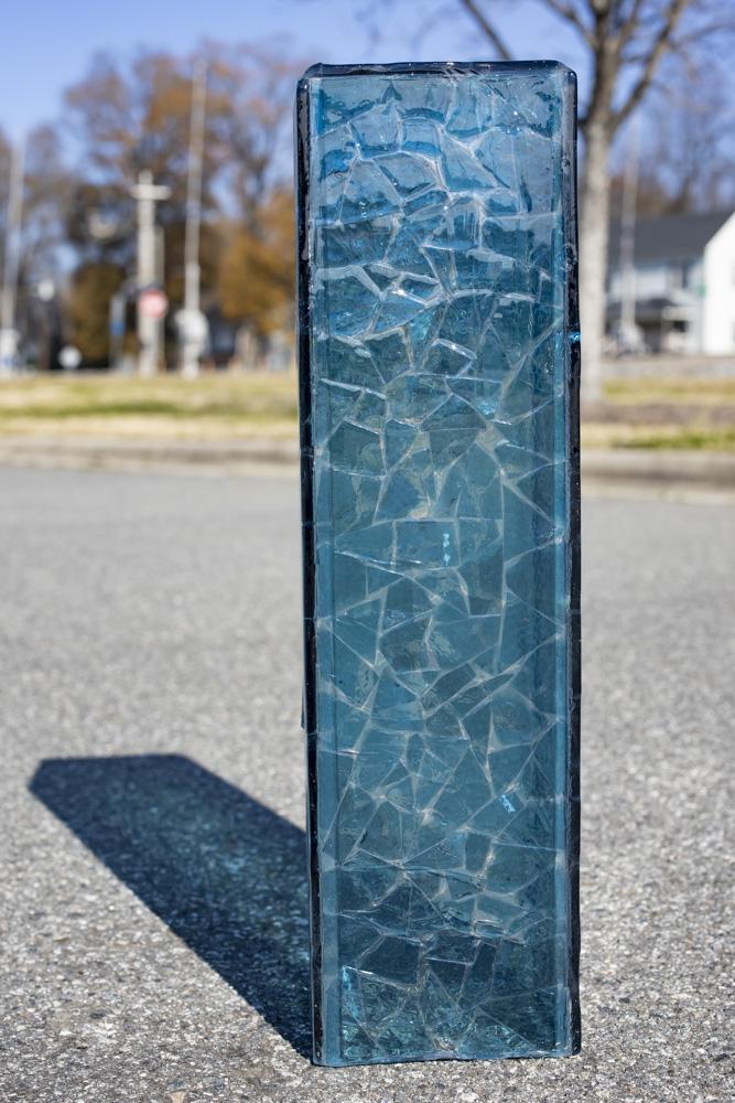 TuxedoKat   Concord Art   Indigo Glass