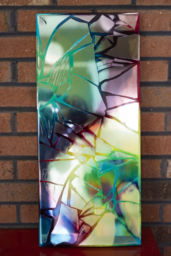 TuxedoKat | Concord Art | Rainbow Mirror
