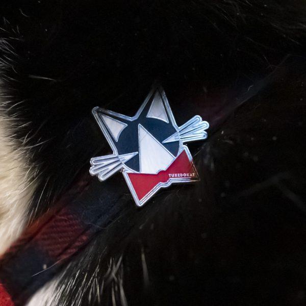 TuxedoKat Pin