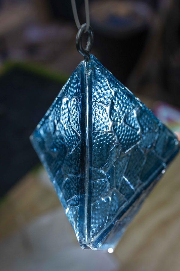 TuxedoKat | Concord Art | Indigo Glass