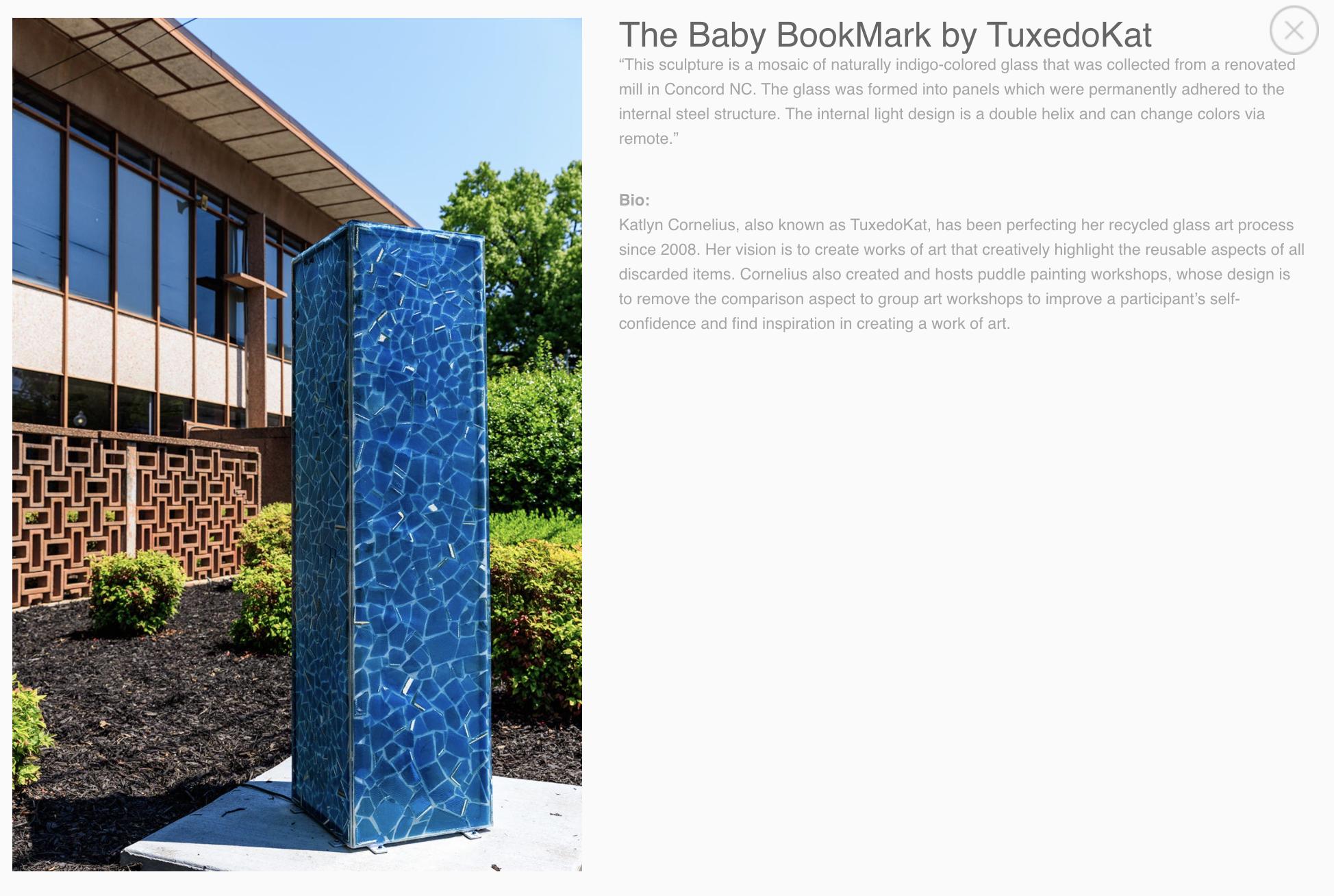 Baby BookMark   TuxedoKat   Concord NC